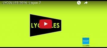 LYCOLLES 2016